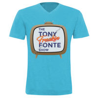 The Tony Freaking Fonte Show Bella + Canvas - Unisex Triblend Short Sleeve V-Neck Tee - 3415 Thumbnail